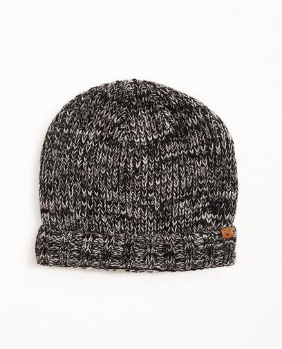 Bonnet gris-noir